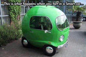 funny-Smart-car-tiny-green-windows