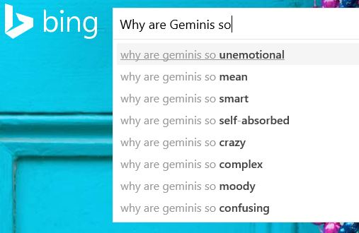 why are geminis so evil